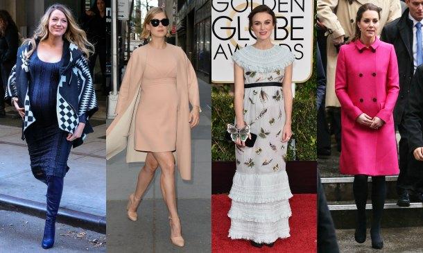 Cuatro 'celebrity moms' con estilos muy diferentes