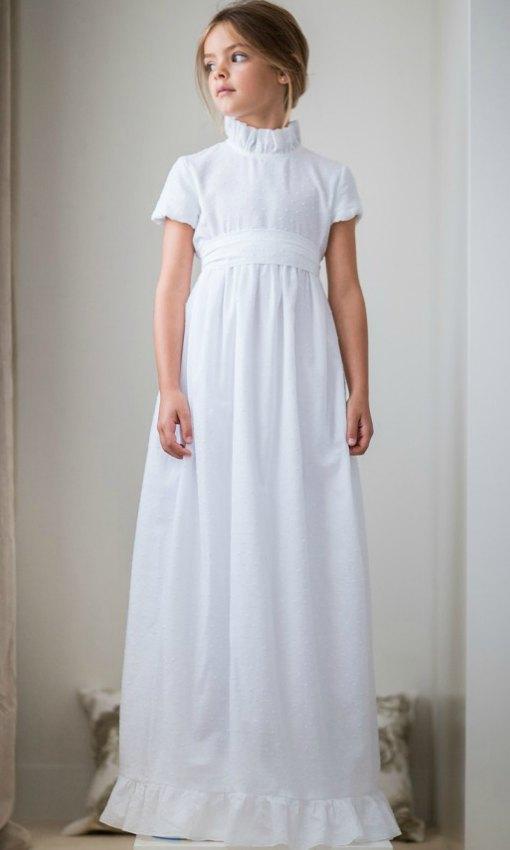 vestidos de primera comunion de pique