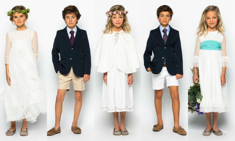 Moda adolescentes y ni os elegancia estilo vestidos de - Como poner el traje de comunion en casa ...
