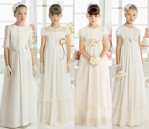 Vestidos de primera comunion modernos 2014