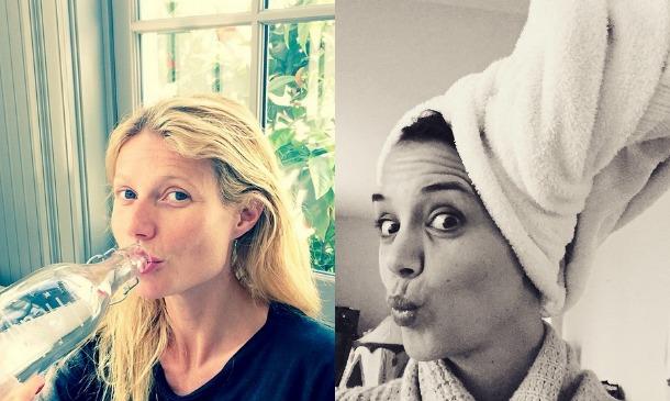 'Celebrity moms' sin maquillar, la nueva moda de Instagram