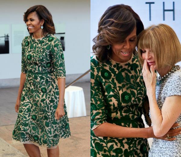 Michelle Obama es una mamá con estilo