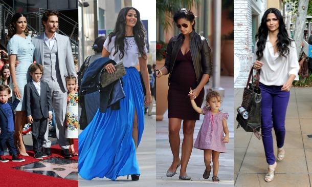 Camila Alves es una mamá con estilo