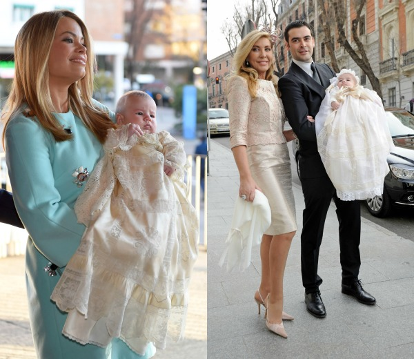 Vestidos madrina bautizo invierno
