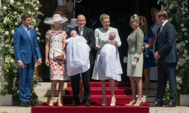 Inspiración 'royal': Las invitadas al bautizo de Jacques y Gabriella de Mónaco