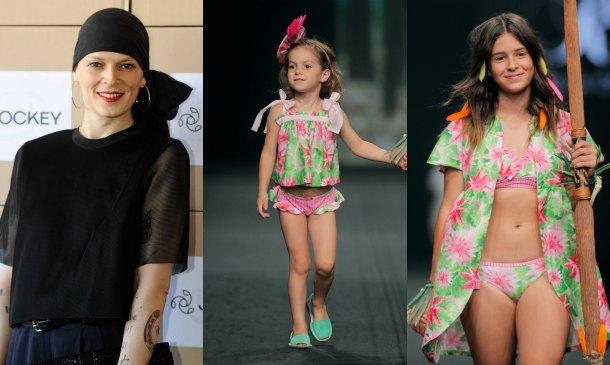 Dora y June, dos nuevas 'mini-modelos' en la familia Bosé