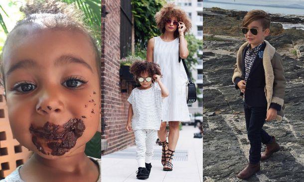 La tendencia (en miniatura) de las mamás y niños 'Instagrammers'