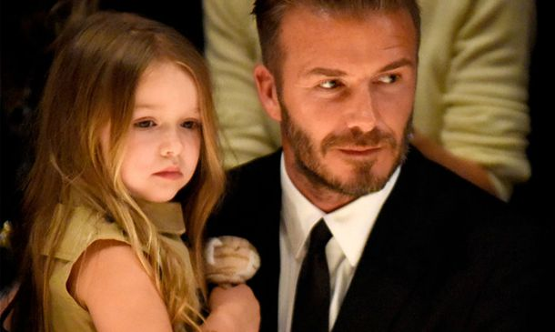 David Beckham dedica dos nuevos tatuajes a las chicas de su vida