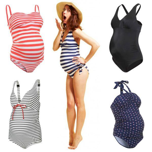 c54db2ec3 Premamás y playa  Las tendencias más  cool  para futuras mamás