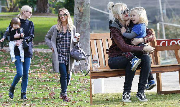 Cuando las mamás de Hollywood son amigas... y sus 'peques' también