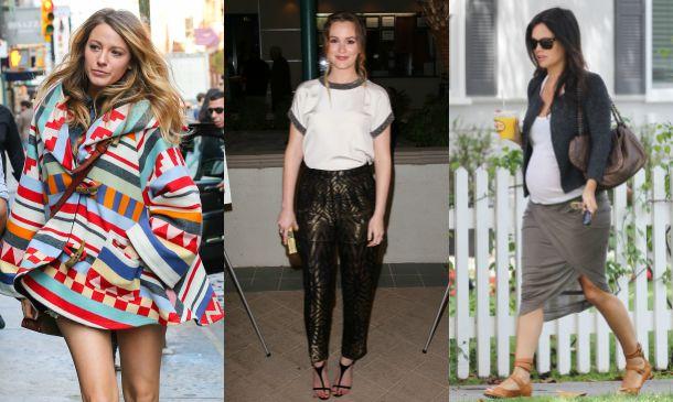 Leighton Meester, Blake Lively y Rachel Bilson: el estilo premamá de las chicas de 'Gossip Girl' y 'The O.C.'