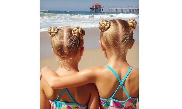 Ideas de peinados para hacer a las niñas este verano