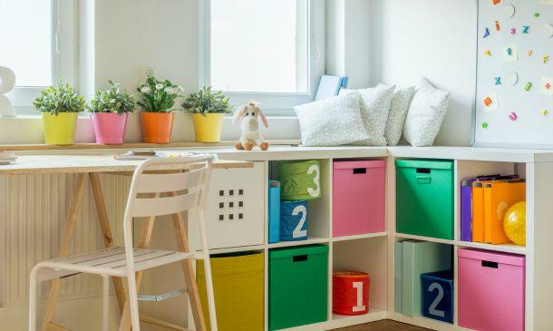 Trucos para organizar el espacio con ni os - Organizar habitacion infantil ...