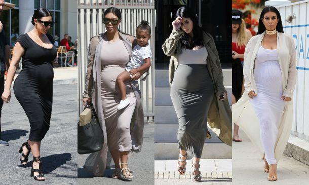 9261f1bad Diez veces en las que Kim Kardashian se ha saltado todas las normas premamá