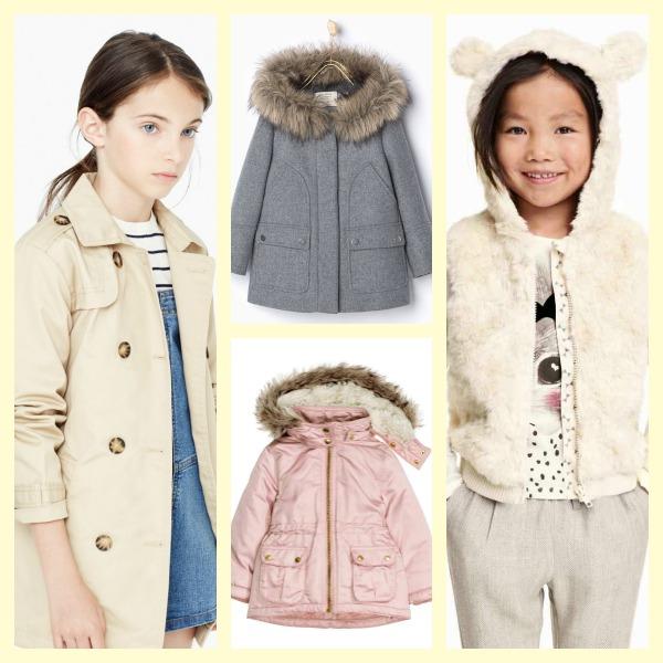 Los abrigos para niña que se llevarán este invierno