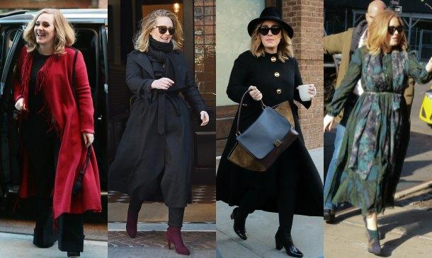 Adele es una mamá con estilo