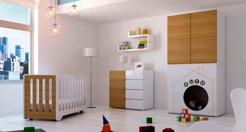 Ideas para que la habitaci n del beb valga para ni os y - Habitacion nino y nina ...