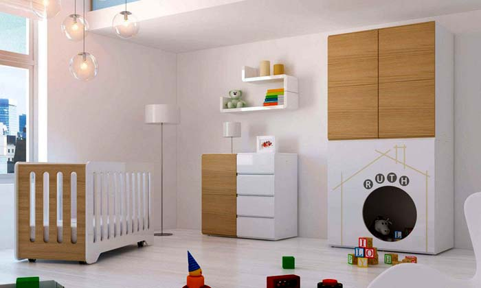 Ideas para que la habitaci n del beb valga para ni os y ni as for Decoracion habitacion bebe
