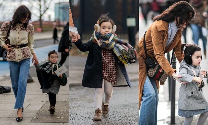 La 'streetstyler' más 'cool' de la semana de la moda tiene tres años