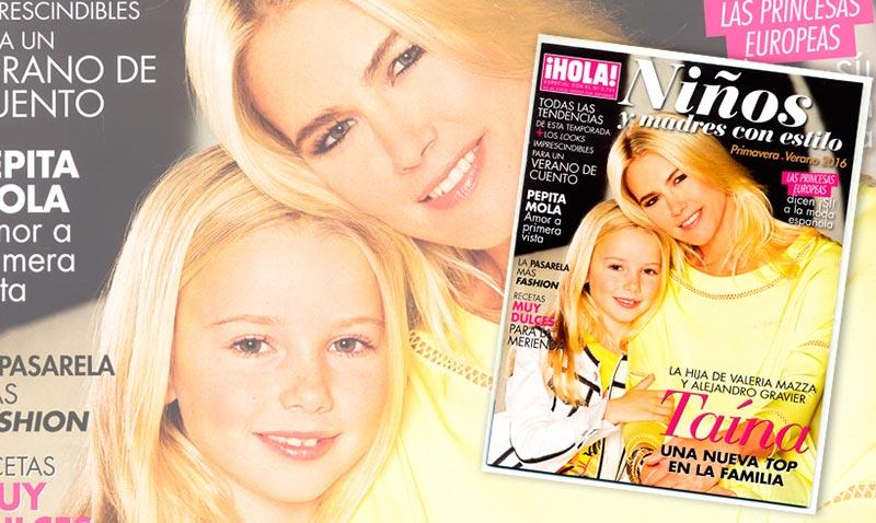 ¡Esta semana con la revista ¡HOLA! te regalamos el especial 'Niños y madres con estilo'!