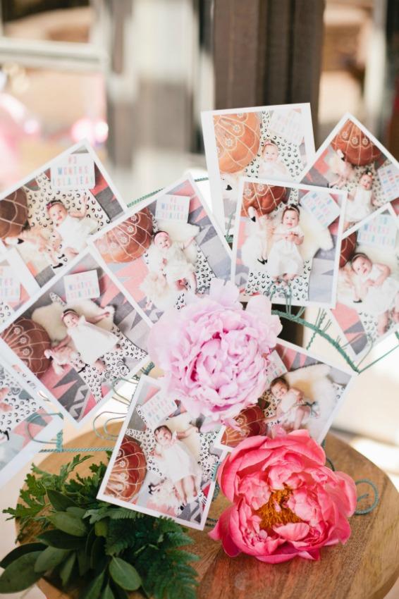 una idea que podemos copiar sea cual sea la edad del upequeu este collage con nuestras fotos preferidas con copias para todos los invitados