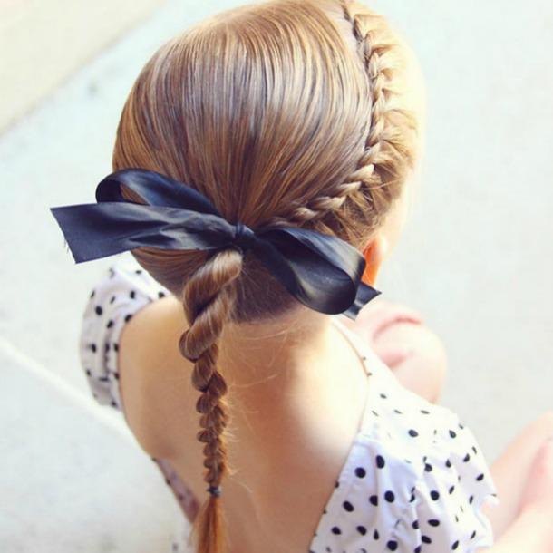 Doce Ideas De Peinados Recogidos Para Que Tus Hijas Estén