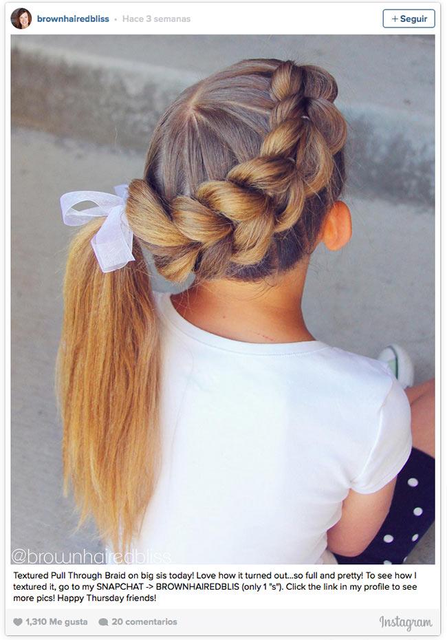 12 peinados con trenzas para las 39 princesas del verano - Peinados y trenzas ...