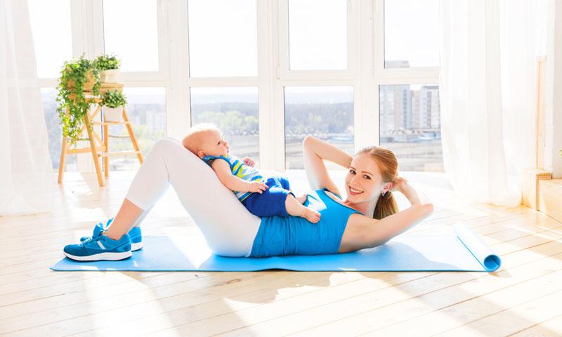 La gimnasia abdominal hipopresiva te ayuda a recuperar la figura tras el parto