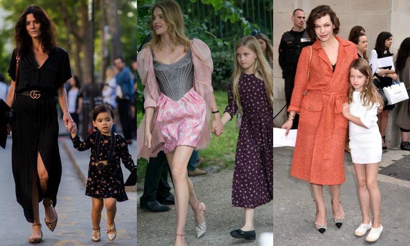 Las 'mini yos' de las modelos que siguen los pasos de mamá
