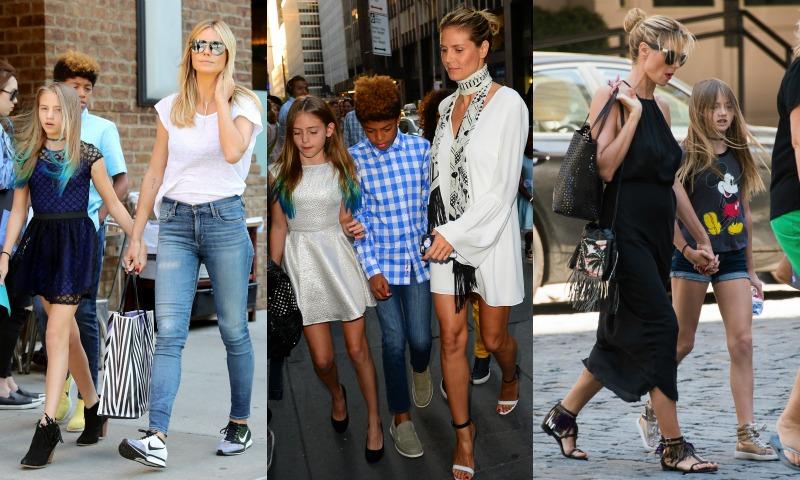 Leni Klum, Vida Alves y otros 'peques' que han cambiado de 'look' este verano