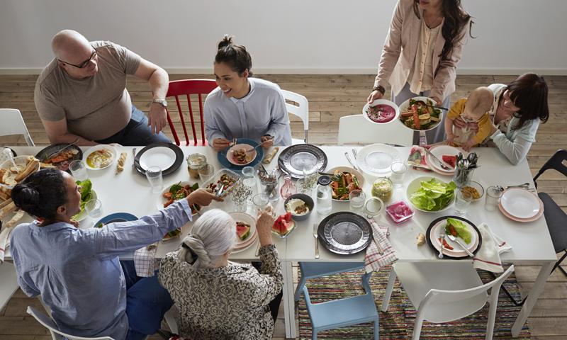El mejor momento del día está por llegar… ¡todos a la mesa!