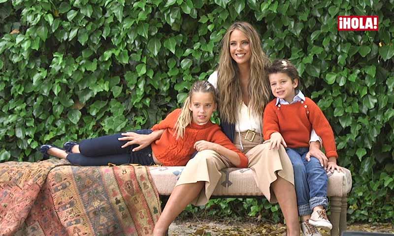 Estefanía Luyk protagoniza, junto a sus hijos, la portada del nuevo Especial ¡HOLA! Niños