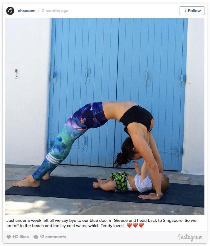 Las Yogi Moms Que Estan Revolucionando La Manera De Practicar Yoga Con Los Peques Foto 1