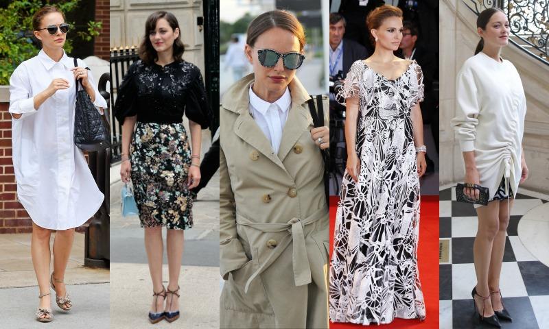 Natalie Portman y Marion Cotillard: El estilo premamá más elegante de la temporada