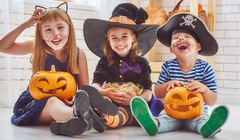 Cinco consejos para mantener los dientes de los niños sanos (incluso en Halloween)