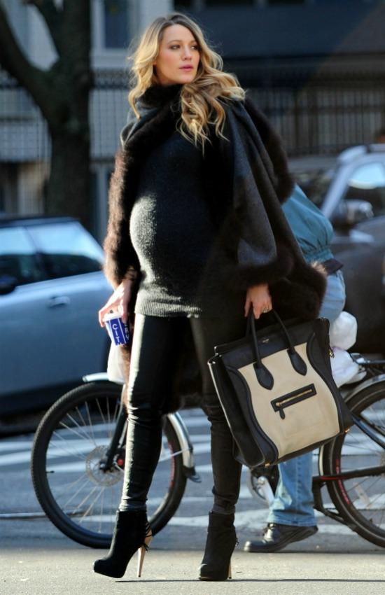 3c63256cd Cómo  sobrevivir  a un embarazo de invierno sin un abrigo premamá - Foto