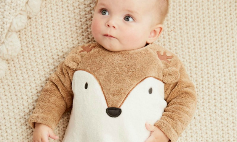 19 prendas muy dulces para la primera navidad del beb foto - Trajes de navidad para bebes ...