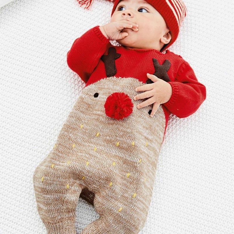 f565901fa 19 prendas muy dulces para la primera Navidad del bebé - Foto