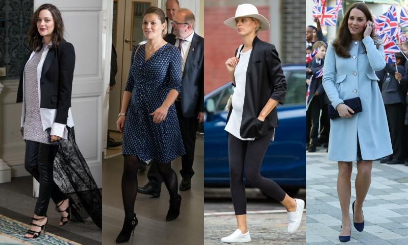 ¿Qué firma británica está vistiendo a todas las premamás 'celeb'?