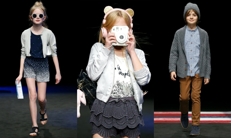 La moda más 'peque' abre la pasarela 080 Barcelona Fashion
