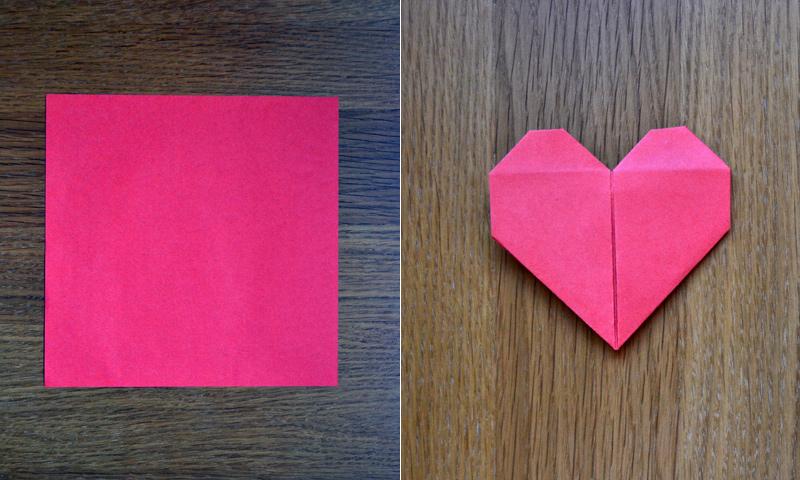 ¡Regala amor! Descubre cómo hacer un corazón de papel con esta linda manualidad