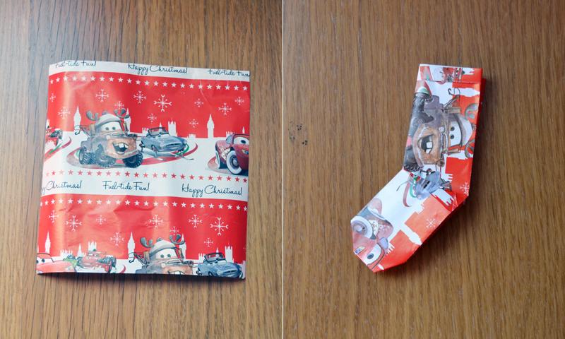 ¡Merry Christmas! Aprende a hacer un calcetín de papel para Navidad