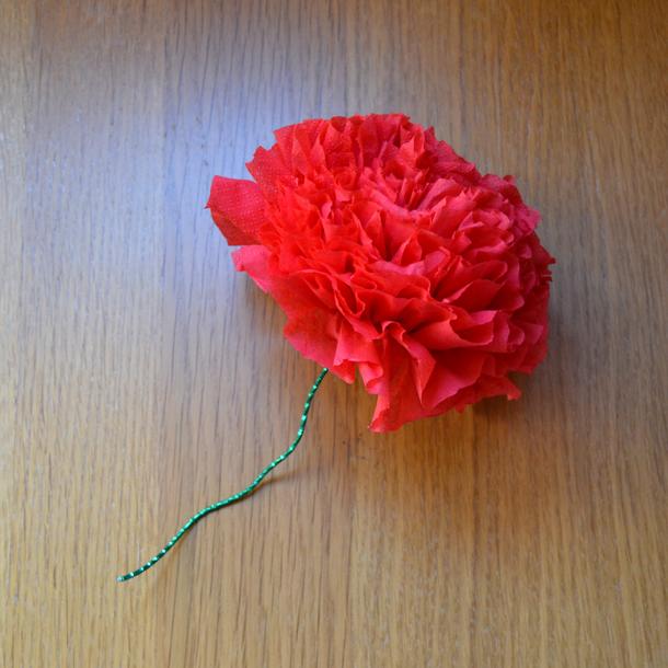 Manualidades Faciles Como Hacer Una Rosa Con Servilletas De Papel