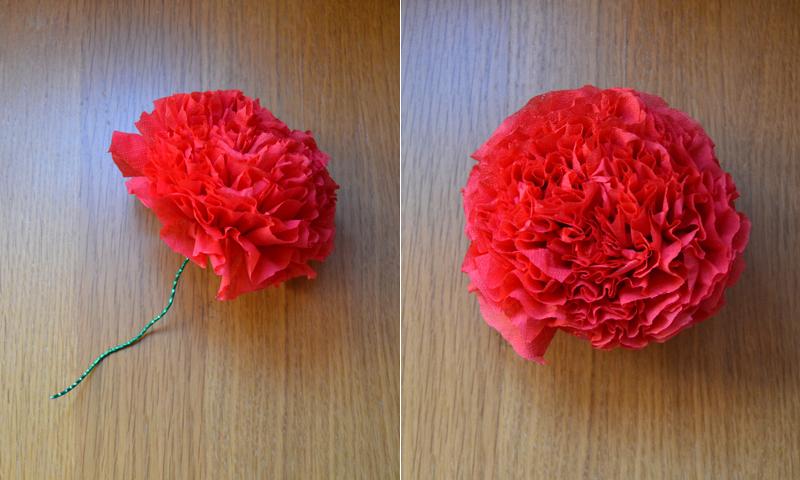 Manualidades f ciles c mo hacer una rosa con servilletas - Como hacer manualidades faciles ...