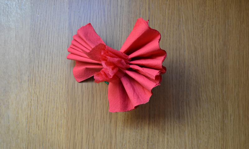 D selo con flores aprende a hacer rosas con servilletas - Como se hacen rosas de papel ...