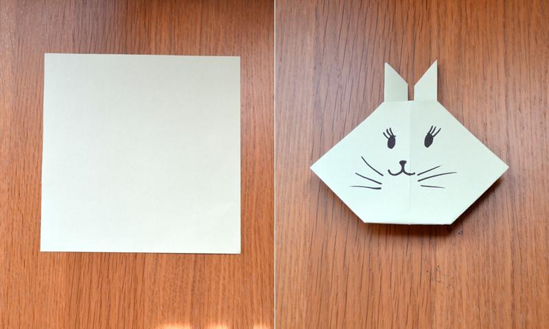 Manualidades fáciles: Cómo hacer un lindo conejo de Pascua de papel