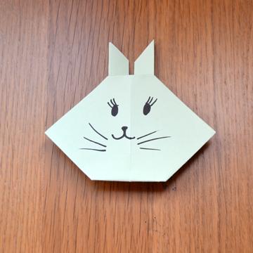 Manualidades para ni os aprende a hacer un conejo de - Papel para dibujar ...