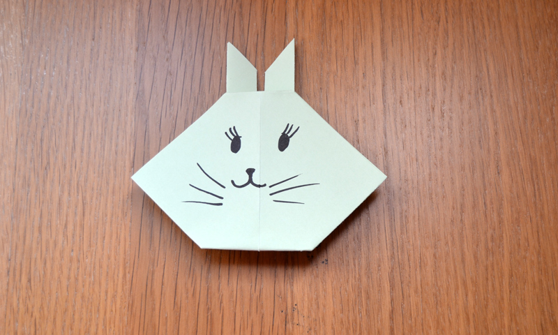 Manualidades f ciles c mo hacer un lindo conejo de pascua - Como hacer manualidades faciles para ninos ...
