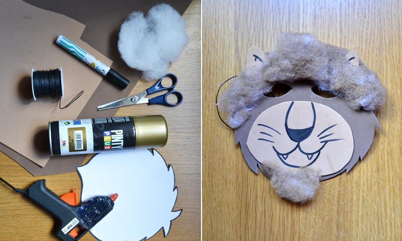¿Buscando un disfraz para tu hijo? Aprende a hacer una careta de león con goma eva
