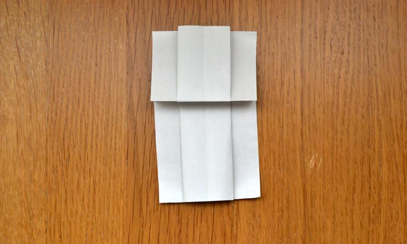 Papiroflexia Aprende A Hacer Un Vestido De Papel Foto 1